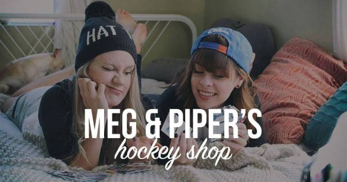Get Your Merch at the Meg and Piper Hockey Shop